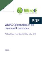 Wimax Broadcast Industry Ver 2.5