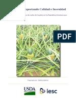 Programa Exportando Calidad e Inocuidad Análisis de la Cadena de valor de la piña en la República Dominicana Preparado