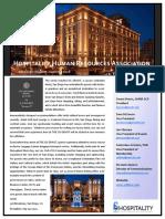 hhra quater 2 2018 newsletter