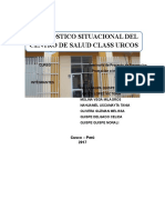 Diagnostico Situacional Del Centro de Salud de Urcos