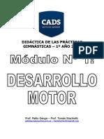 Didactica de Las Practicas Gimnasticas - Desarrollo Motor 2018