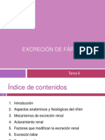 Tema 6. Excrecion de Farmacos OCW Modif