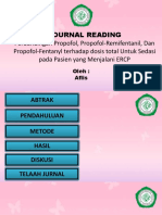Jurnal Reding Anestesi