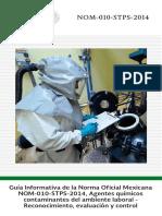 GUIA NOM-010-STPS-2014 Contaminantes por sustancias químicas.pdf