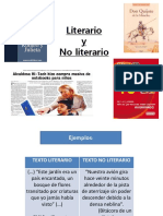 Literario y No Literario