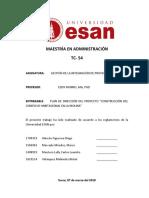Plan de Direccion Aquamarina