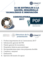 Taller Convocatoria Pei 2017