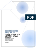 Diseño de Una Red Vsat Tipo Malla