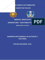 18. Manual de Doctrina Policial 2016-1