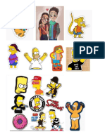 stickers simpsons.doc