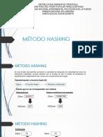 Método Hashing