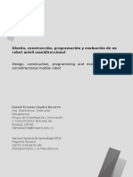 Diseño, construcción, programación y evaluación de un robot móvil omnidireccional