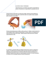 Historia de La Carga Del Electron-material