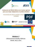 Evaluacion de HH en El Sector Agricola Para Un Mejor Adaptacion Al Cambio Cimatico -II-2