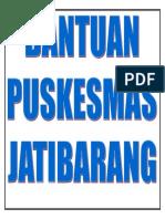 BANTUAN PUSKESMAS JATIBARANG