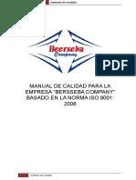 Manual de La Calidad Para El Control b.c.