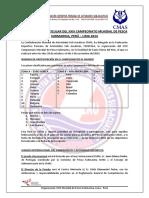 Reglamento campeonato mundial pesca submarina