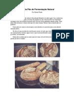Receita Pão de Fermentação Natural - Daniel Prado