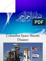 Columbia Space Shuttle Accident