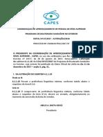 Retificação-PDSE Capes