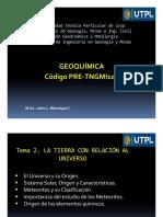Geoquímica _Universo
