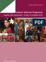 Internatonal Students Welcome Programme