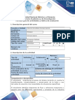 Guía de Actividades y Rúbrica de Evaluación - Fase 2 - Realizar Estudio de Caso Para La Unidad 2 y Desarrollar El Ejercicio Virtual Plant