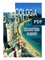 Clase 19 Ecosistemas Humano