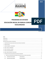 1 PE Educacion Inicial en Familia Comunitaria Escolarizada