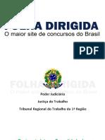 FOLHA DIRIGIDA - Regimento Interno TRT-RJ