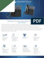 Datasheet Gxp1610 1615 Spanish