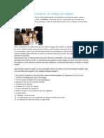 12 Consejos Para Mejorar El Trabajo en Equipo