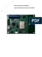 UDEV SIGFOX Embedded Development Kit - Manual v011
