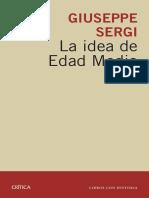 SERGI La Idea Edad Media