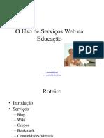 Uso de Servicos Web Na Educacao