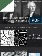 Faraday y Lavoisier