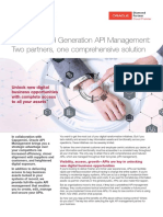 Superior Third Generation API Management Two Partners One Comprehensive Solution
