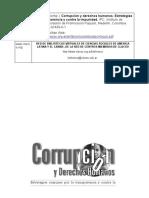 Corrupción y DDHH