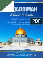 Muqaddimah Usool Al Hadith (Shah Abdul Haq Muhadith Dehlavi) - English (Commentary by Muhammad Nabeel Musharraf)