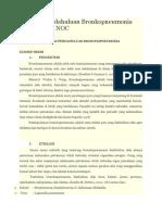 Laporan Pendahuluan Bronkopneumonia NANDA NIC NOC