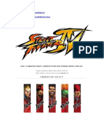 Street Fighter IV Guia Completo