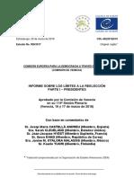 Aprobado Por La Comisión de Venecia en Su 114ª Sesión Plenaria (Venecia, 16 y 17 de Marzo de 2018)