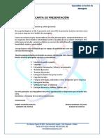 Carta de Presentacion y Tarifas (Lima)