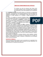 Tema 4 Procesos Termicos de Transformacion Del Petroleo