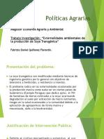 Politicas Agrarias SOJA