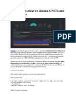 Cómo Monitorizar Un Sistema GNU