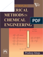 Numerical Methods in Chemical Engineering