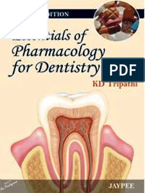 KD Tripathi - Essentials of Pharmacology for Dentistry, 2nd