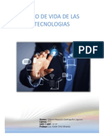 Ciclo de Vida de Las Tecnologias