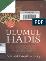 Ulumul Hadits Lengkap Abdul Majid Khon PDF